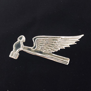 Flying Hammer(S) Badge